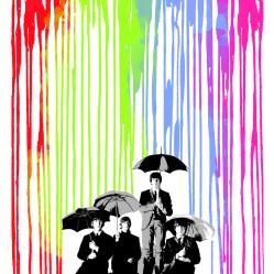 Beatles Pop Rain