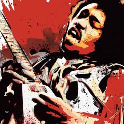 Jimi Hendrix Pop design