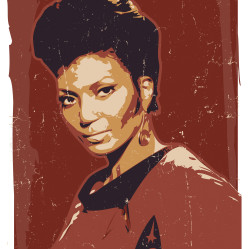Nyota Uhura Art print