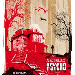 Psycho inspired print