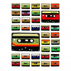 Retro cassete tape