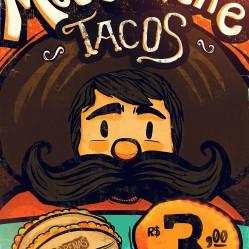 Moustache Tacos