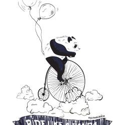 ride like a panda