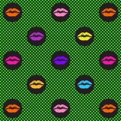 Fun kiss