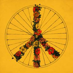Peace and Bike - Yellow