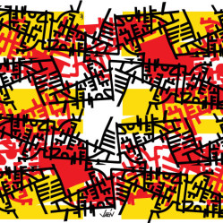 Yellow-Aztec