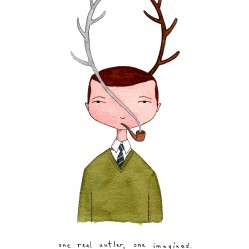 one_real_antler