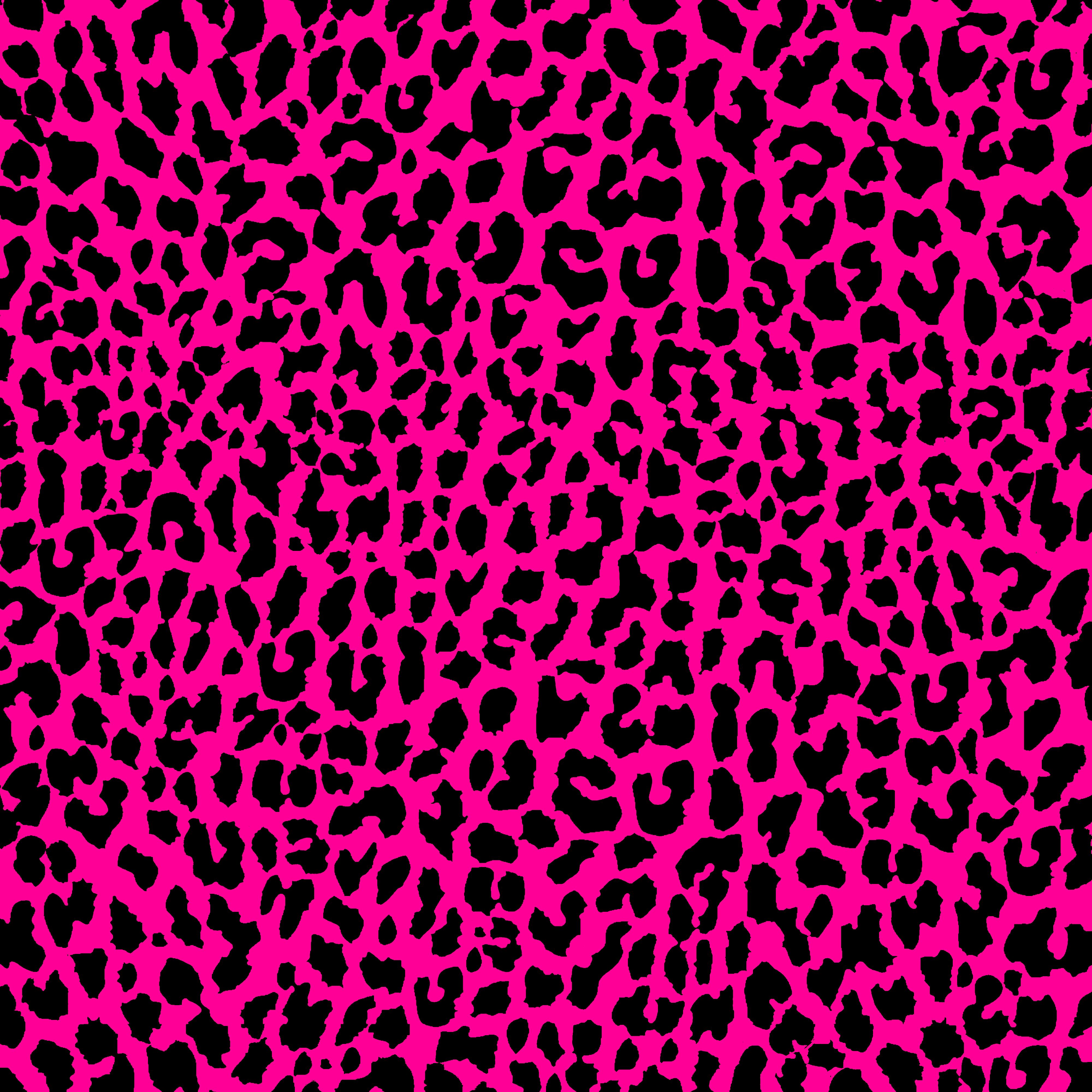 Pink leopard print background