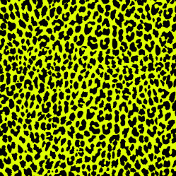 Neon Yellow Leopard