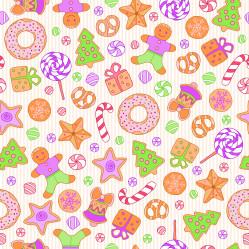 winter sweet seamless pattern