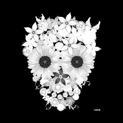 skullflowers-w-PILLOW
